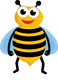 Home - bee landing icon