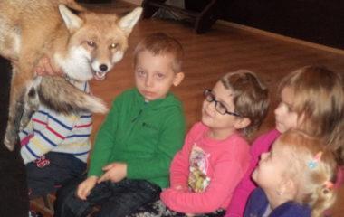 liška Mia - podzimníčci vánoční besídka 155 380x240