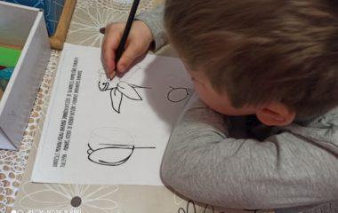 jak jsme se zapojili do distančního vzdělávání :-) - kreslení 380x240